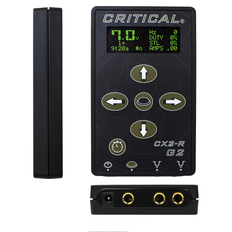 Critical Cx2r G2 Tattoo Power Supply Premier Tattoo Supplies